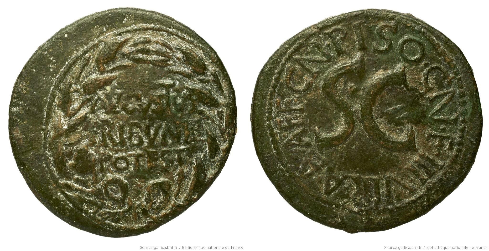 You are currently viewing 2125AU – Dupondius Auguste – Cnaeus Calpurnius Piso