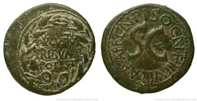 2125AU – Dupondius Auguste – Cnaeus Calpurnius Piso