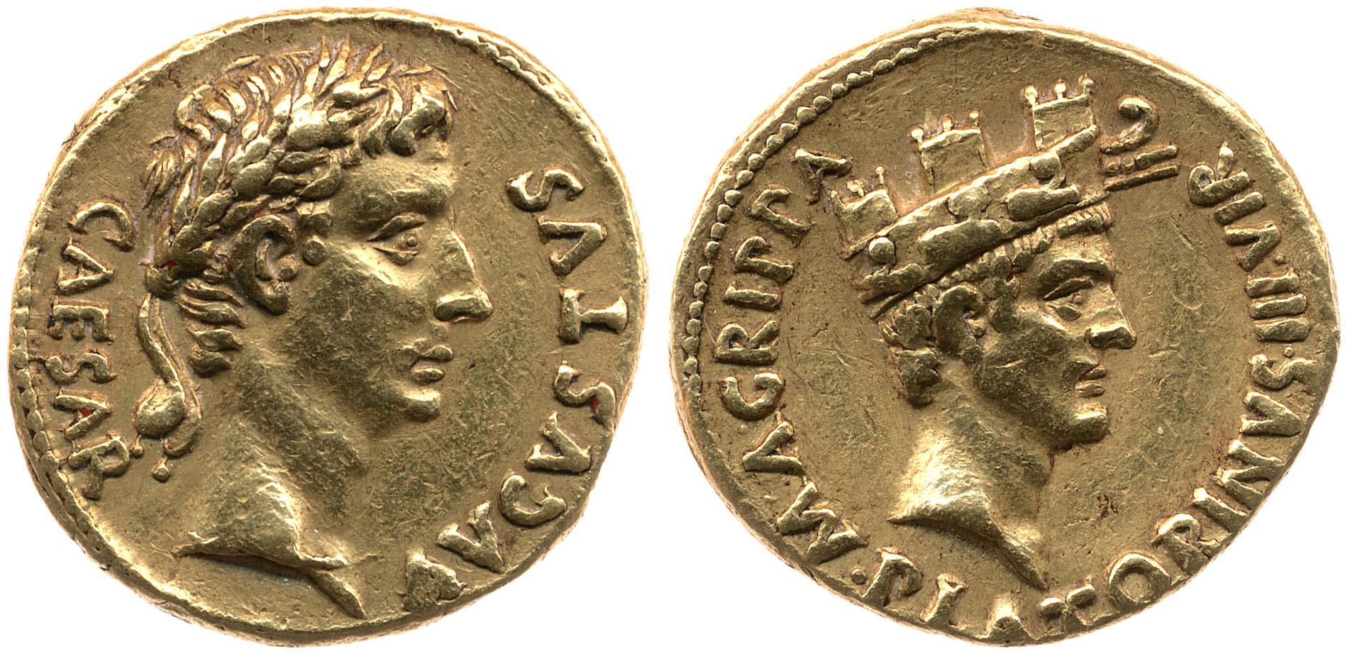 2148AU – Aureus Auguste – Caius Sulpicius Platorinus