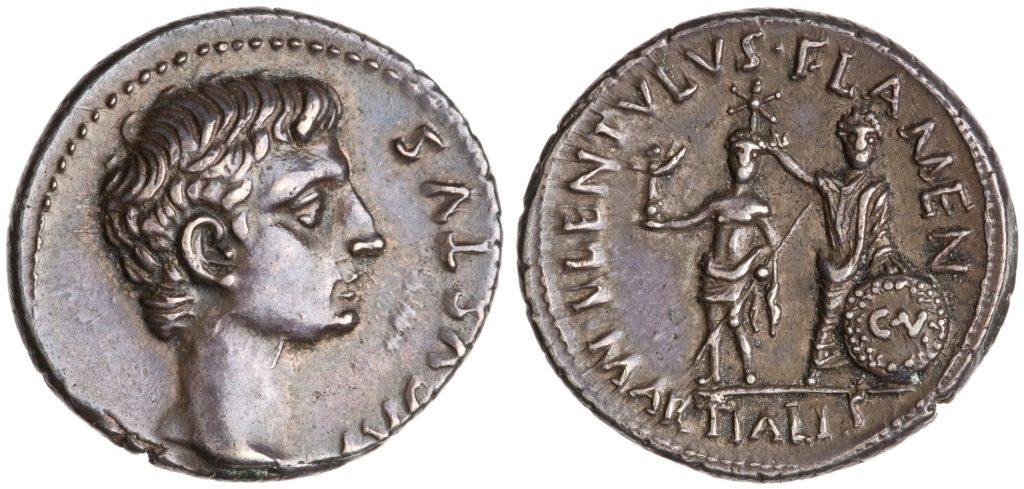 Read more about the article 2153AU – Denier Auguste – L. Lentulus