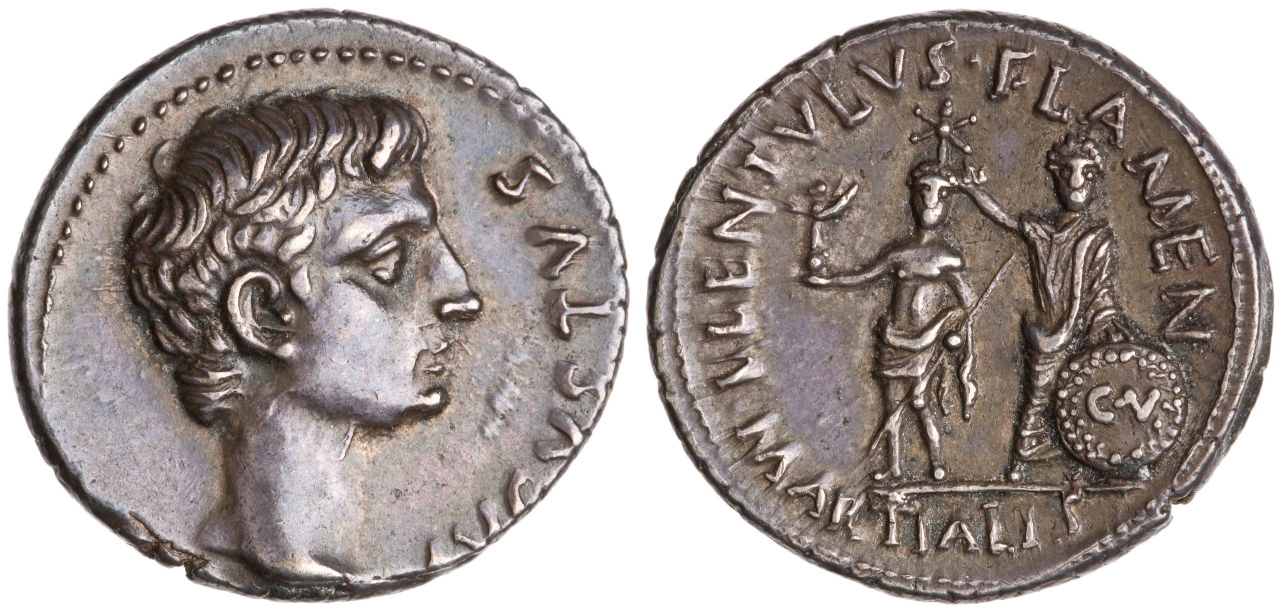 2153AU – Denier Auguste – L. Lentulus