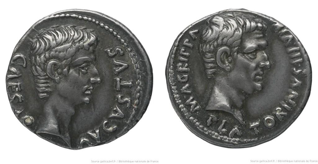 Read more about the article 2147AU – Denier Auguste – Caius Sulpicius Platorinus