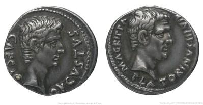 2147AU – Denier Auguste – Caius Sulpicius Platorinus