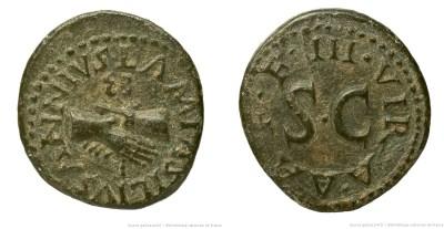2158AU – Quadrans Auguste – Lamia, Silius et Annius