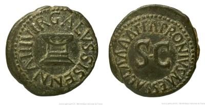 Read more about the article 2187AU – Quadrans Auguste – Apronius, Galus, Messalla et Sisenna