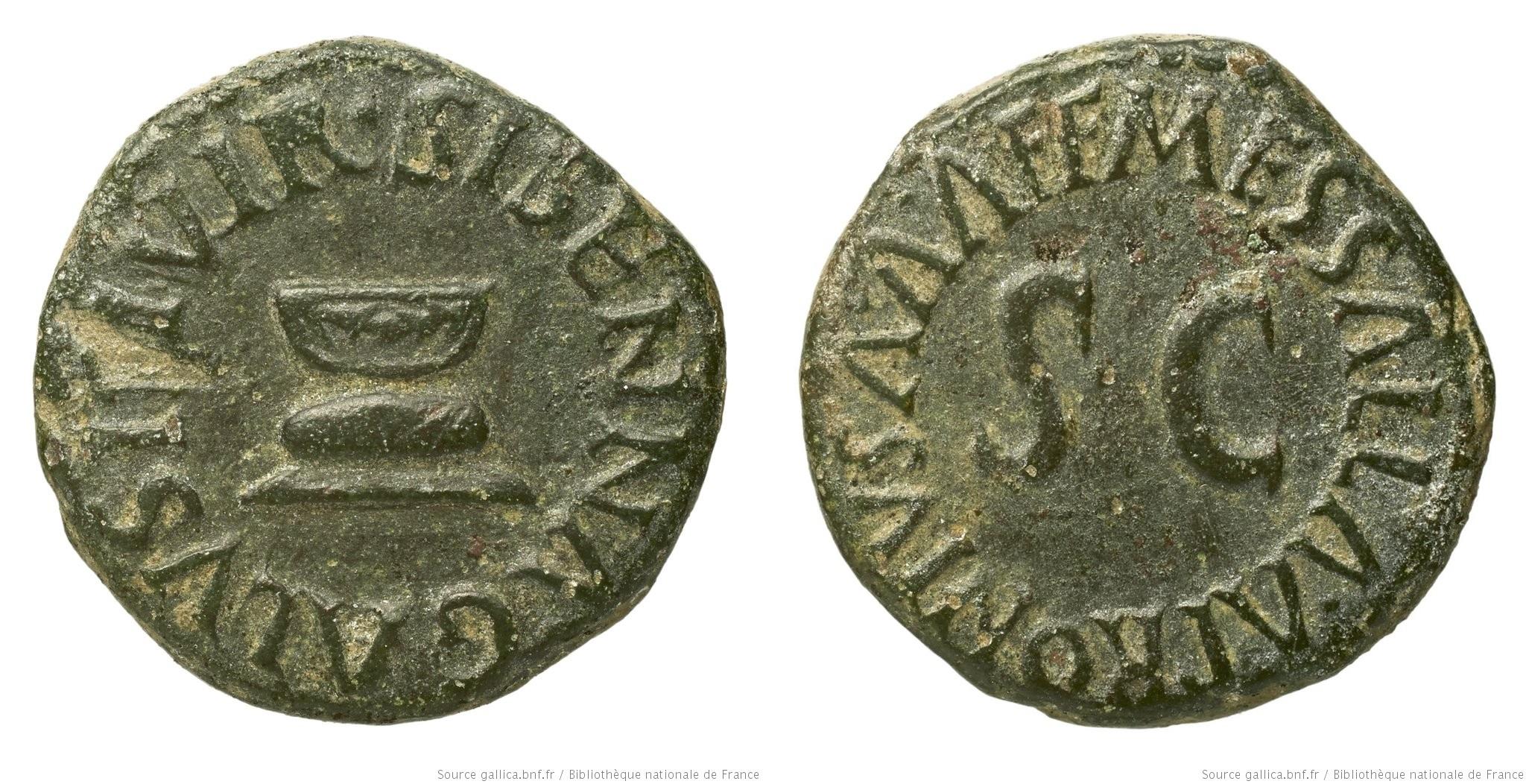 2198AU – Quadrans Auguste – Apronius, Galus, Messalla et Sisenna