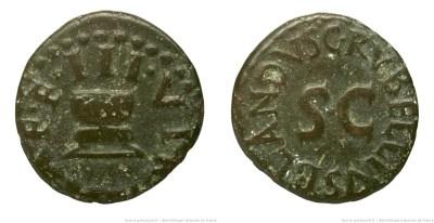 2203AU – Quadrans Auguste – C. Rubellia Blandus