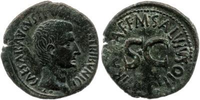2168AU – As Auguste – M. Salvius Otho