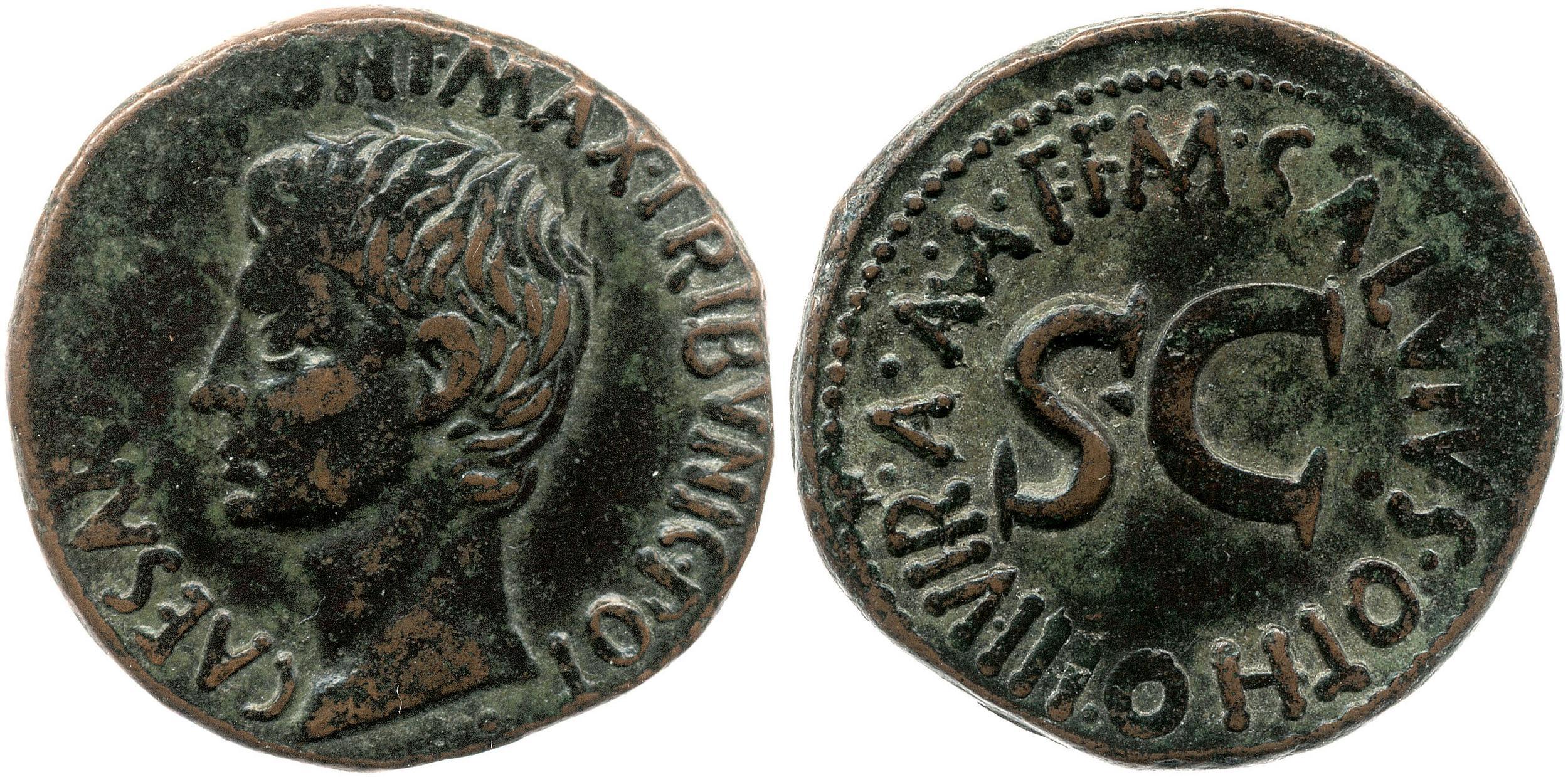2169AU – As Auguste – M. Salvius Otho