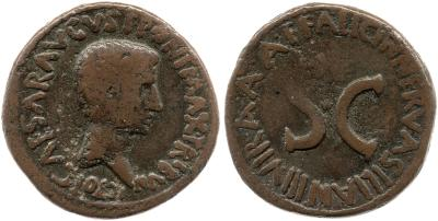 Read more about the article 2173AU – As Auguste – A. Licinius Nerva Silianus