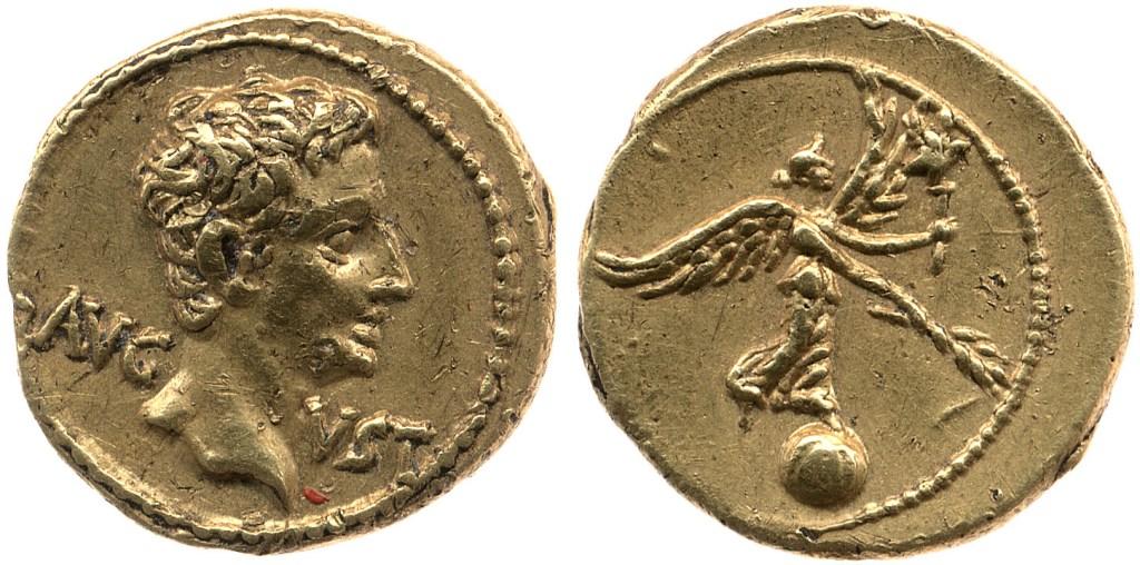 2402AU – Quinaire d'or Auguste