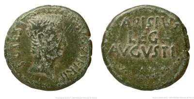 2464AU – As Auguste – P. Carisius