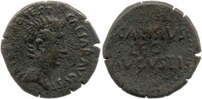2465AU – As Auguste – P. Carisius
