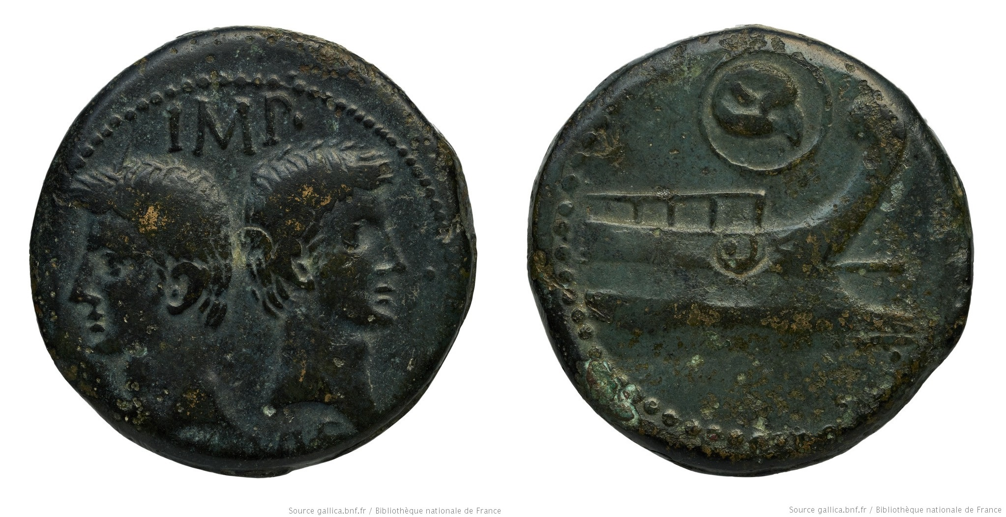 You are currently viewing 2554AU – Dupondius Octave et Agrippa – Orange (Arausio)