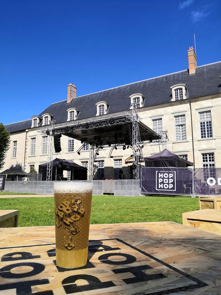 Bière brassée spécialement pour l'édition Hop Pop Hop 2019 - Exemple de Mécénat - Sponsoring possible