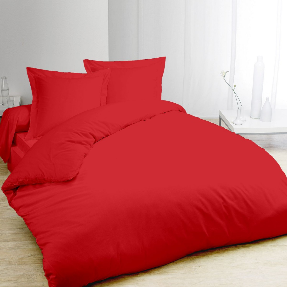 Housse Couette Rouge