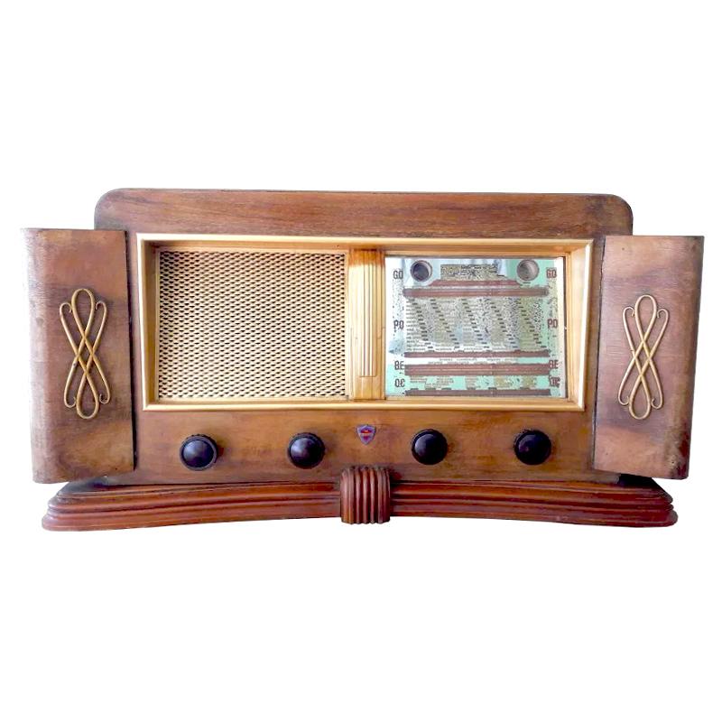 poste radio vintage LES DOYENS Bluetooth