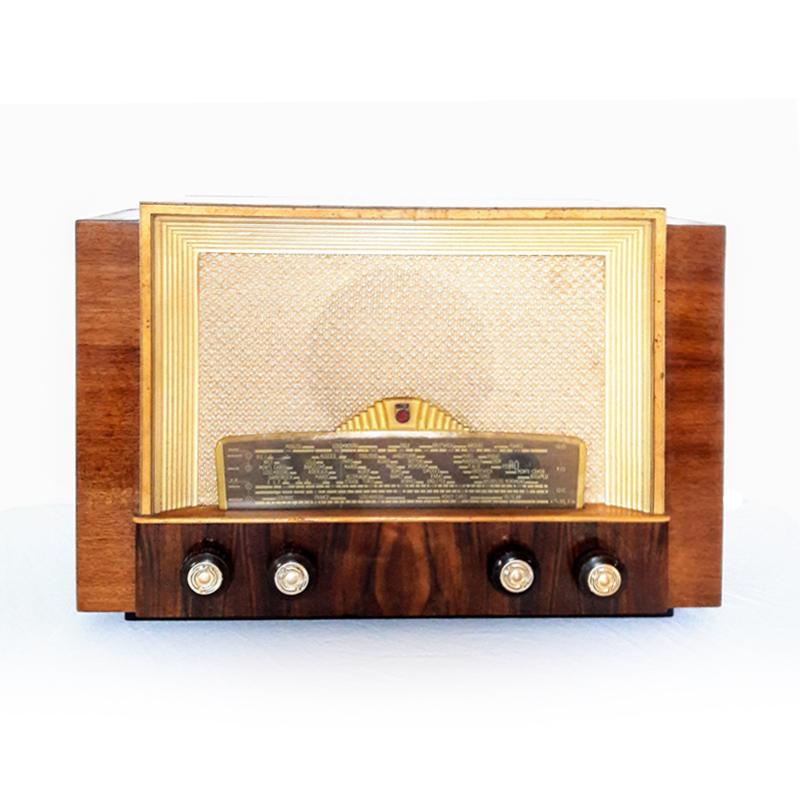 philips-1951-radio tsf poste radio vintage bluetooth