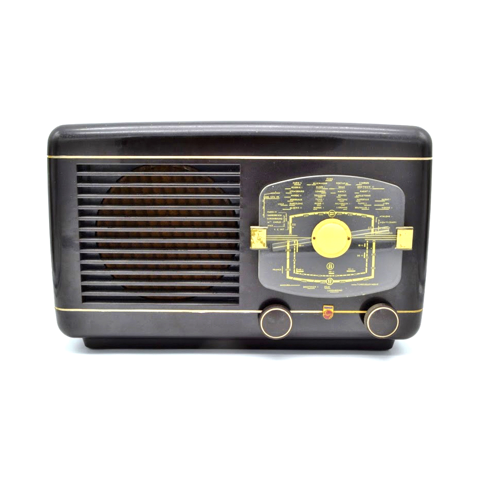 Philips BR 387 Poste radio TSF vintage bluetooth