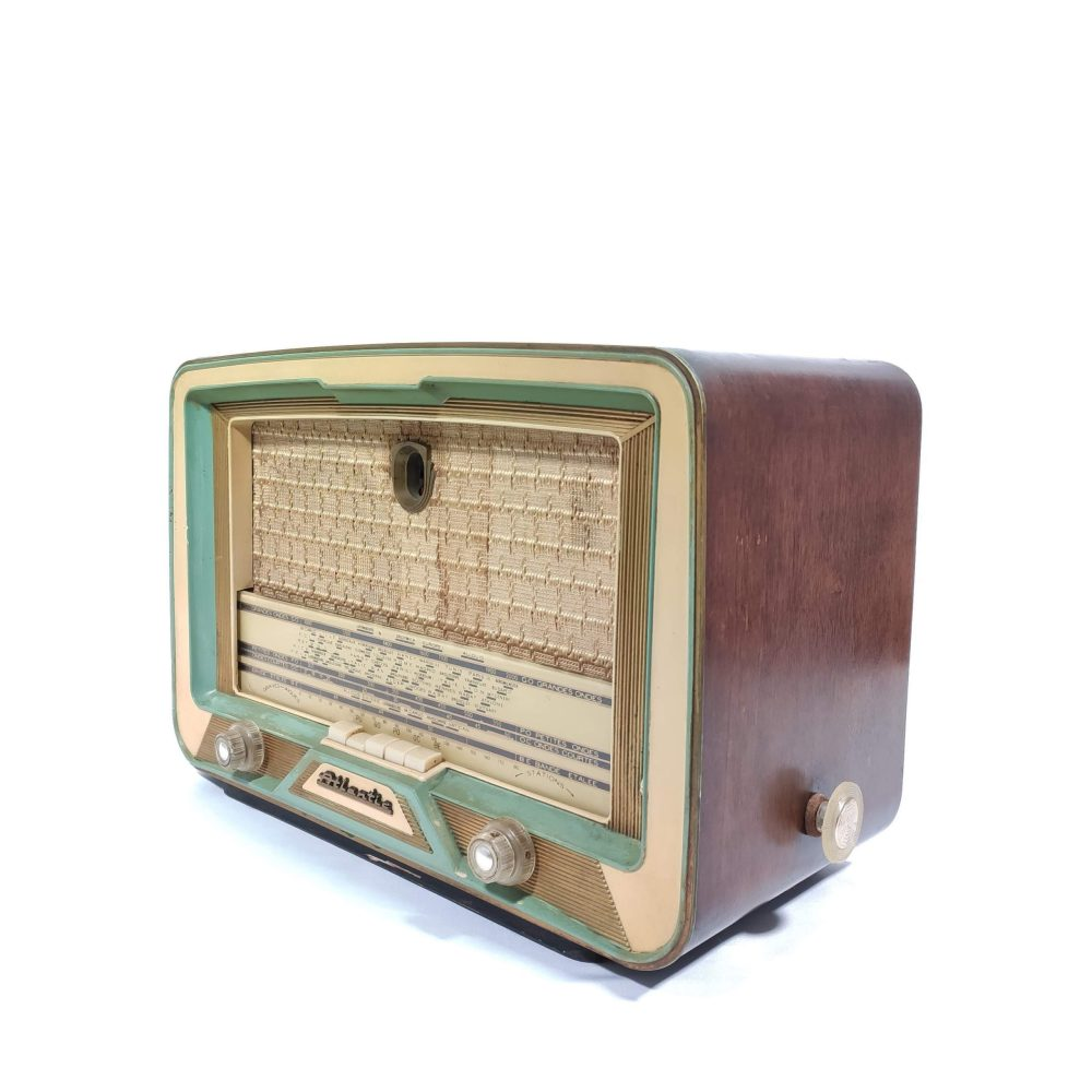 Atlantic A83A de 1957 : Poste radio vintage Bluetooth