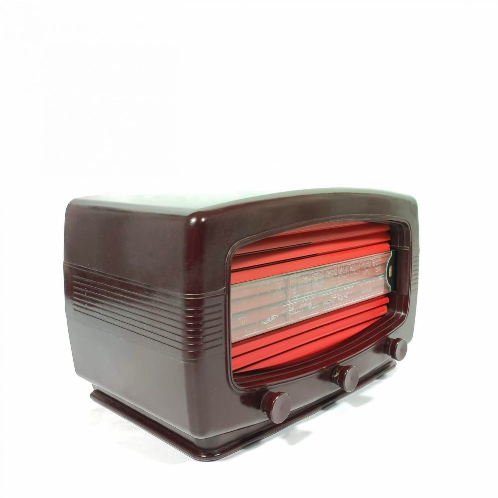 Radialva Super-AS 50 de 1950 : Poste radio vintage Bluetooth