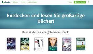 Ein Blick in die Skoobe-Bibliothek: www.skoobe.de/books vom 15.07.2014
