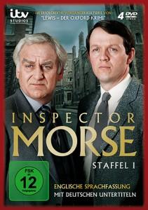 Inspector Morse, Staffel 1 – Cover mit freundlicher Genehmigung von Edel:Motion