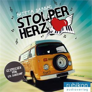 Stolperherz von Britta Sabbag - Cover mit freundlicher Genehmigung vom Rubikon Audioverlag
