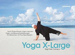Yoga X-Large von Birgit Feliz Carrasco - Cover mit freundlicher Genehmigung vom systemed Verlag