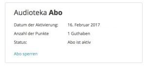 audioteka Abo: Screenshot