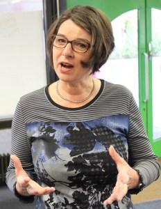 Rektorin der Hohbuchschule Frau Kemter
