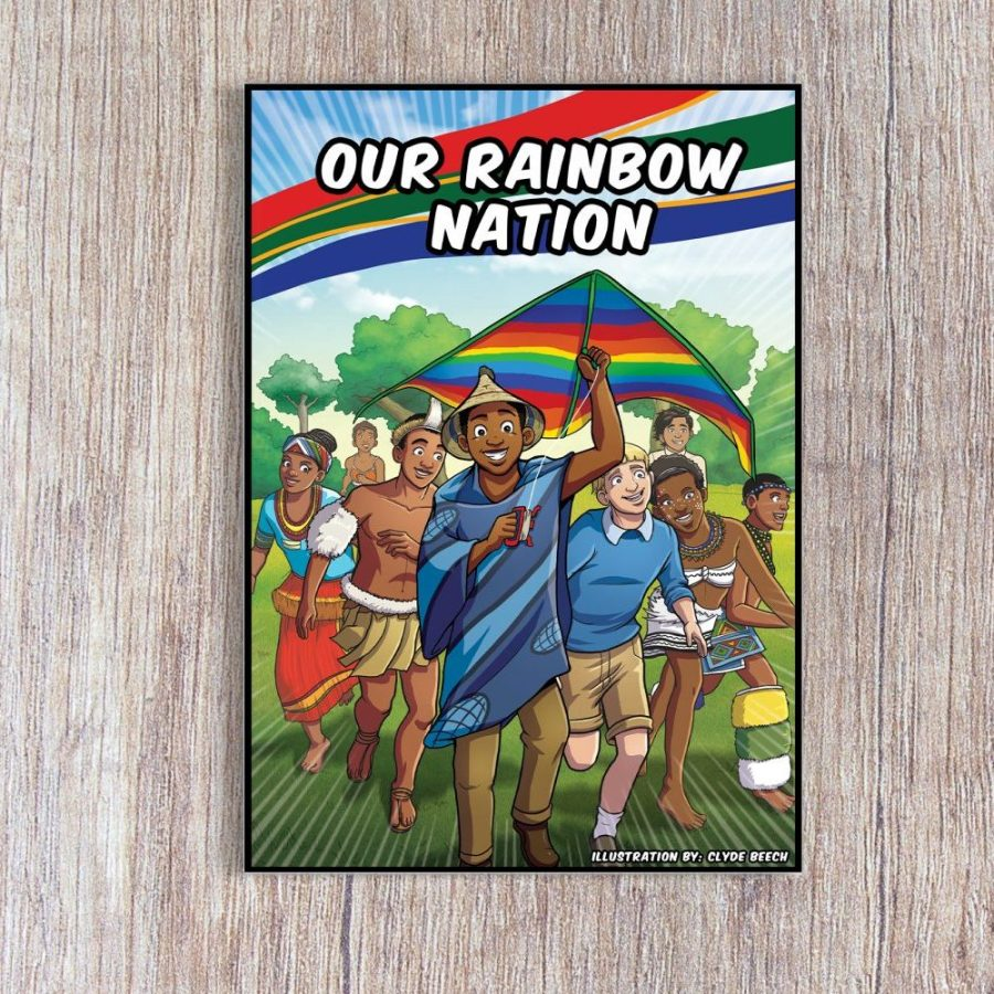 Proudly South African Colouring Book