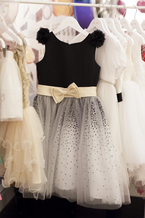 Alegre Media Bow Party Dress