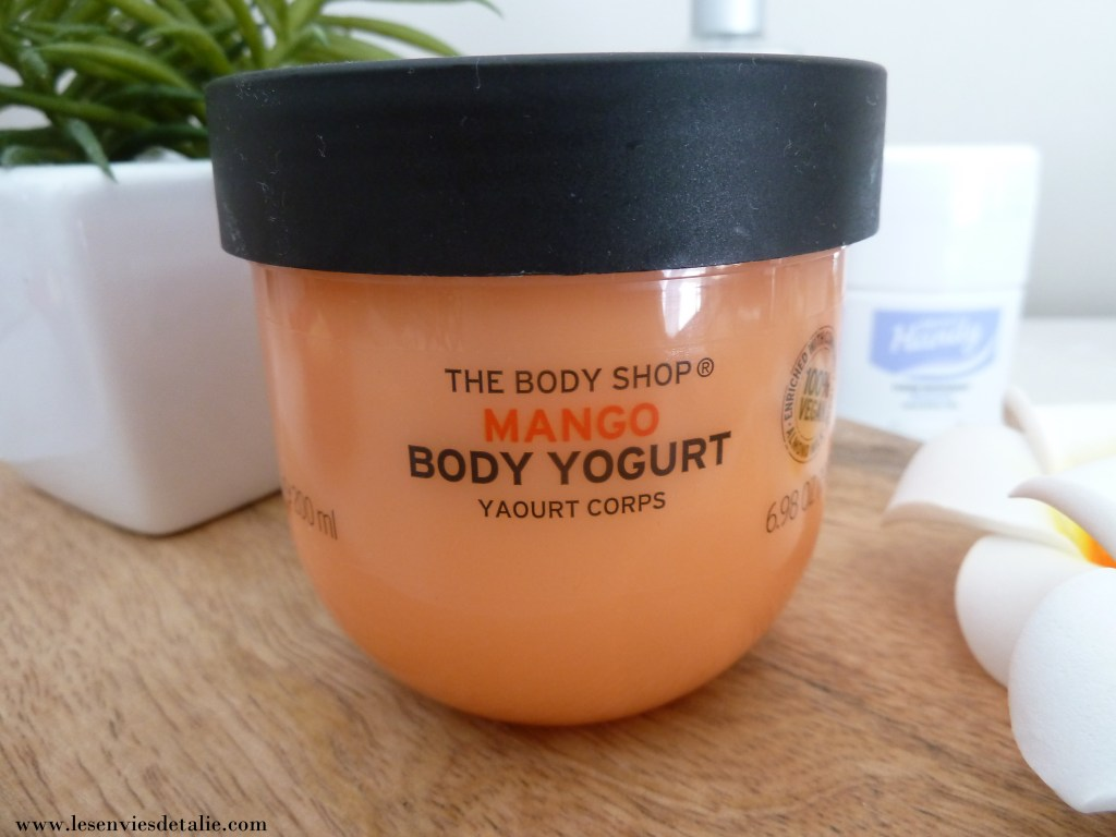 Body Yogurt Mango The Body Shop