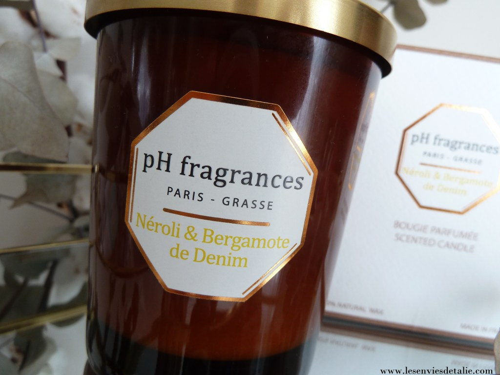 bougie néroli & bergamote pH fragrances