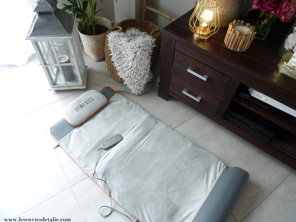 Tapis de stretching Homedics