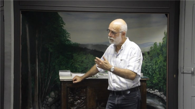 Yannick Louche ex maire de Cendras dans les Cevennes