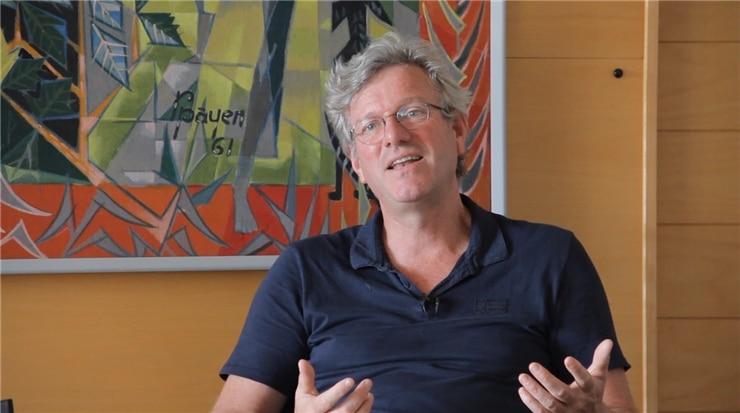 Stéphane Veyrat fondateur de l'association Un Plus Bio