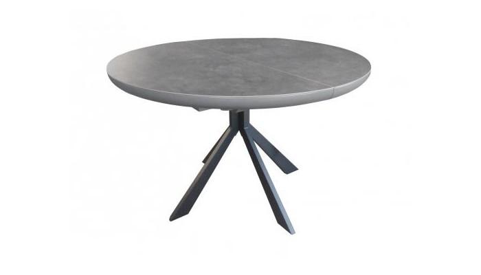 table ronde 1 allonge centrale papillon