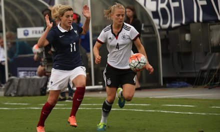 #SHEBELIEVESCUP Video du match face à l'Allemagne (0-1) et commentaire d'Elise Bussaglia