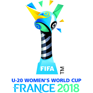 Logo Coupe du Monde U20 en France.