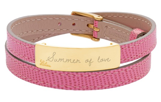 Bracelet_Lilou_double_tour_avec_plaque_gravee_summer_of_love