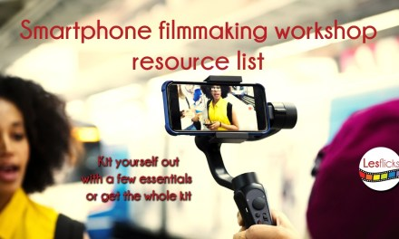 Smartphone filmmaker resource list