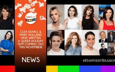 lesbian film happiest season starring kristen stewart & directed by clea duvall announces full cast and release date!