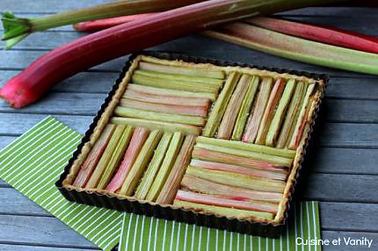 """Résultat de recherche d'images pour """"tartes géométriques à la rhubarbe"""""""