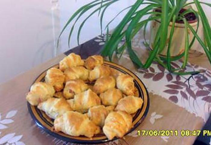 Recette De Mini Croissants Salés Par Sophies13