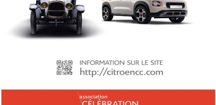 Rassemblement du Siècle Citroën Origins