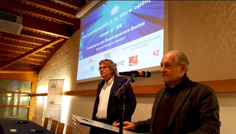 Conférences près de St-Etienne pour le SIEL, sur le thème de la fibre au centre de séminaires les Foréziales