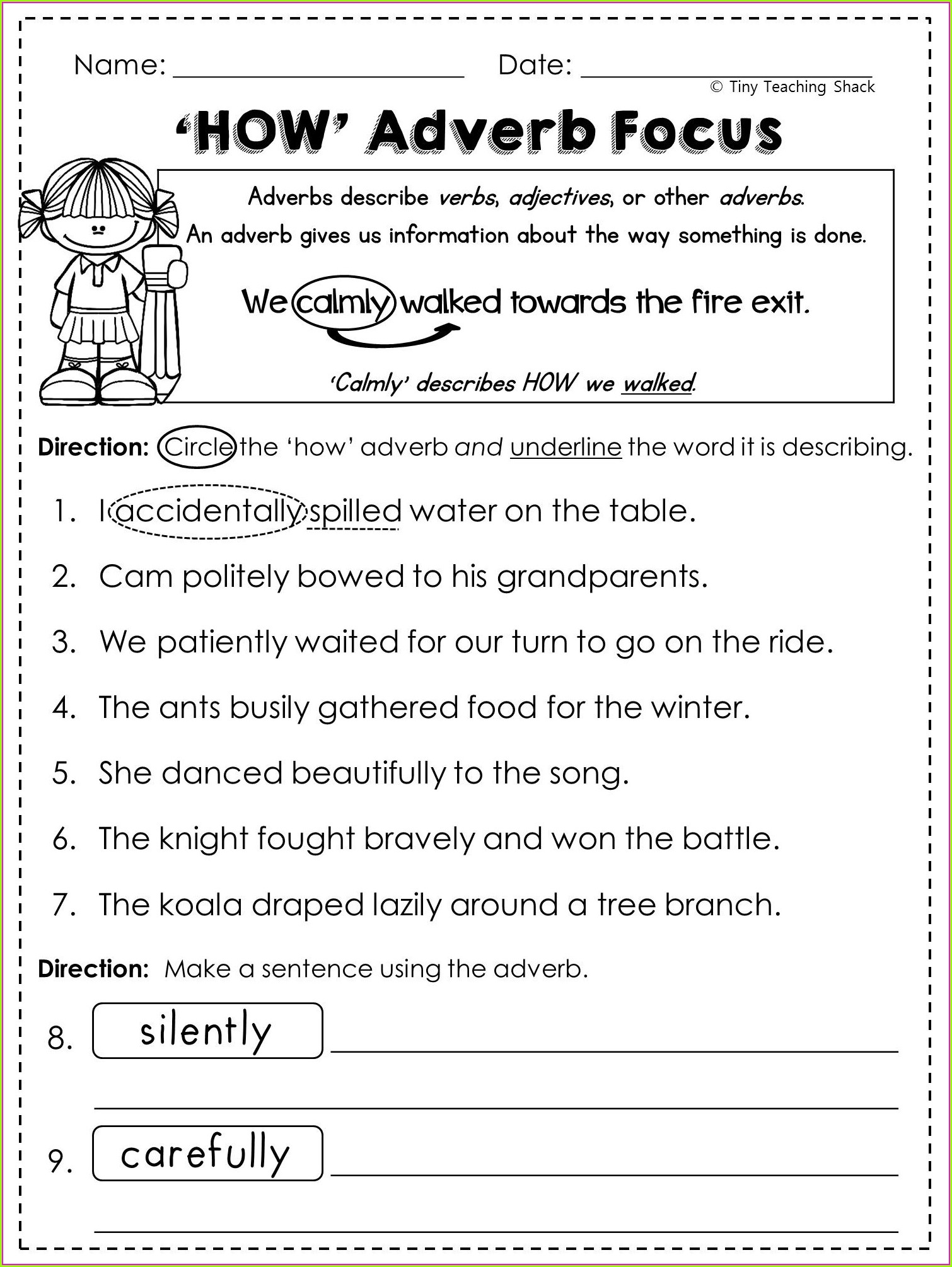2nd Grade Ela Worksheets