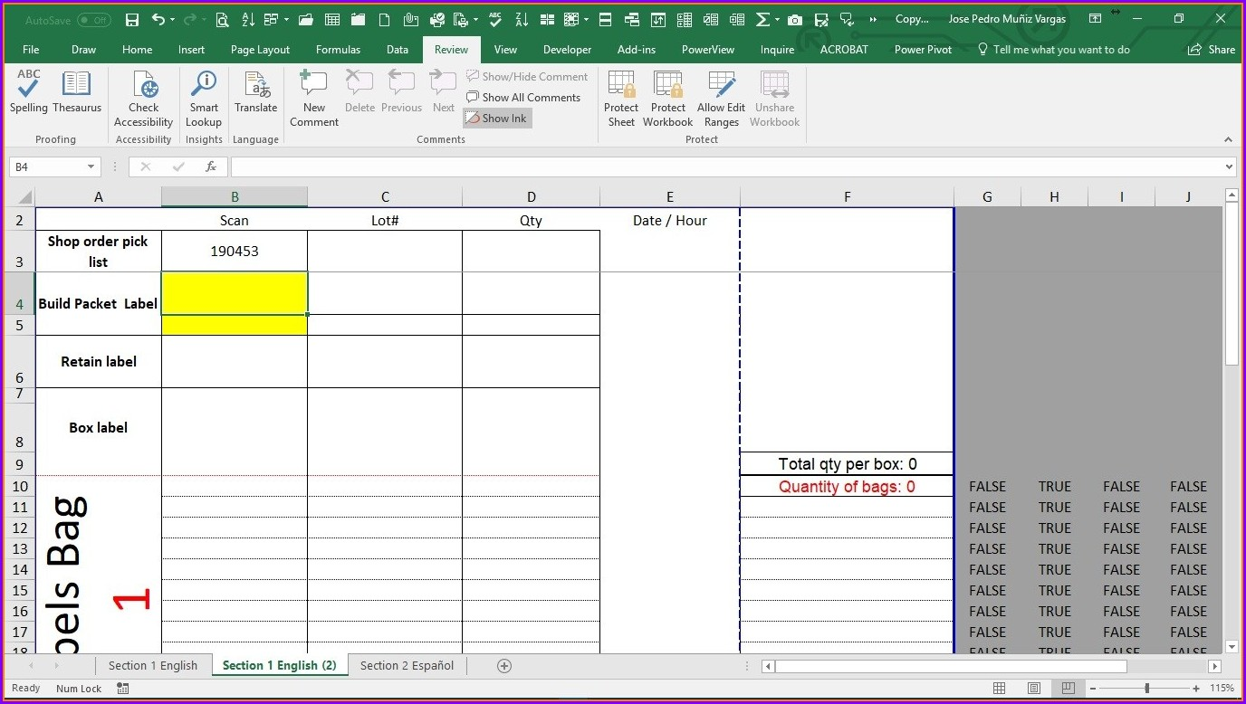 Excel Worksheet Change Event Target